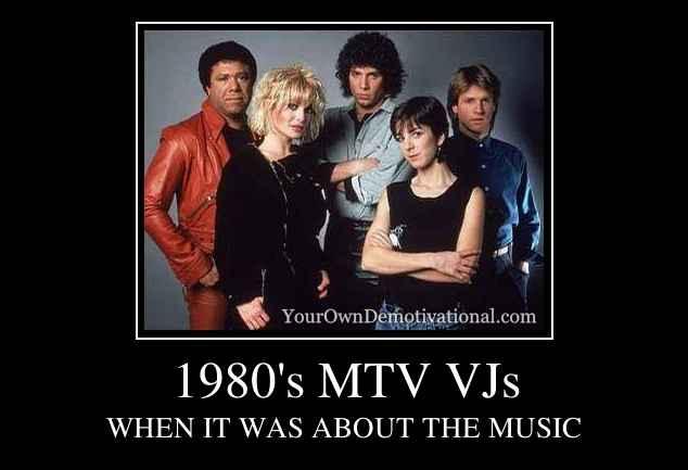 1980's MTV VJs