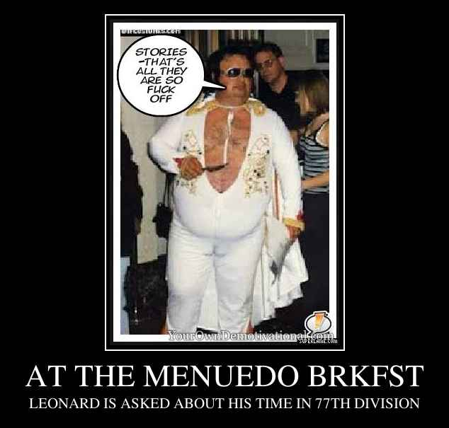 AT THE MENUEDO BRKFST