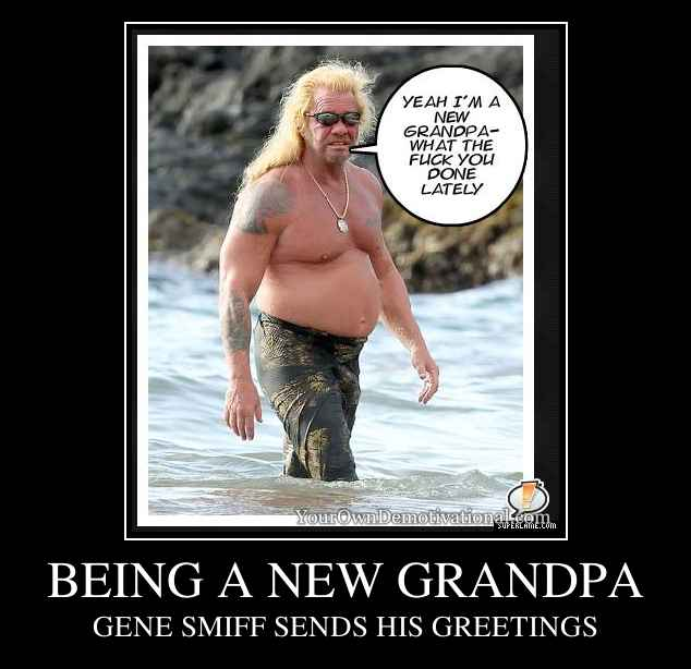 BEING A NEW GRANDPA