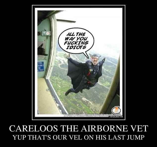 CARELOOS THE AIRBORNE VET