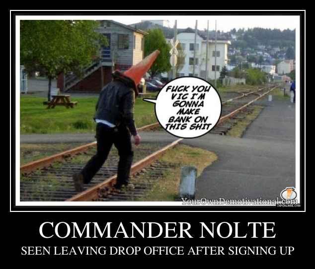 COMMANDER NOLTE