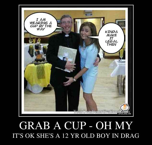 GRAB A CUP - OH MY