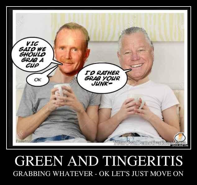 GREEN AND TINGERITIS