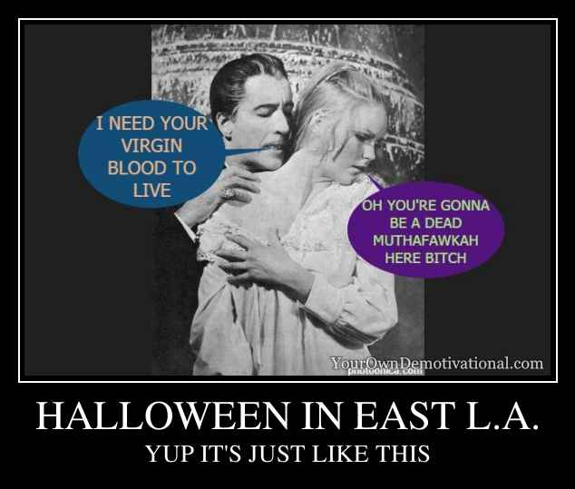 HALLOWEEN IN EAST L.A.