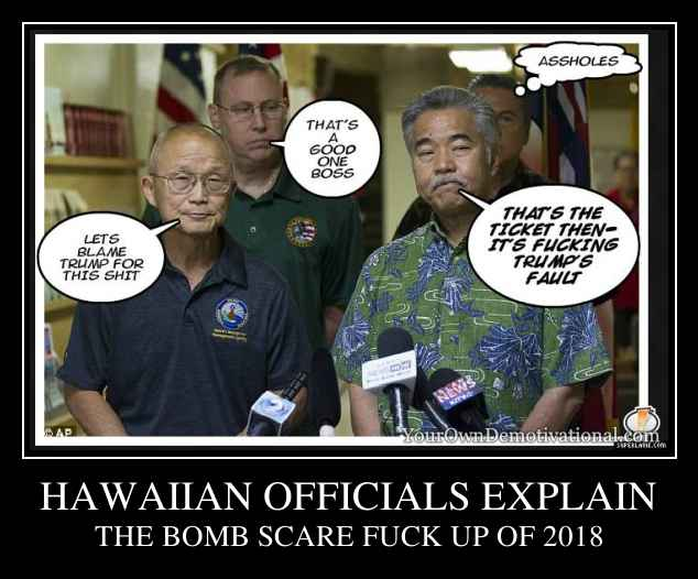 HAWAIIAN OFFICIALS EXPLAIN
