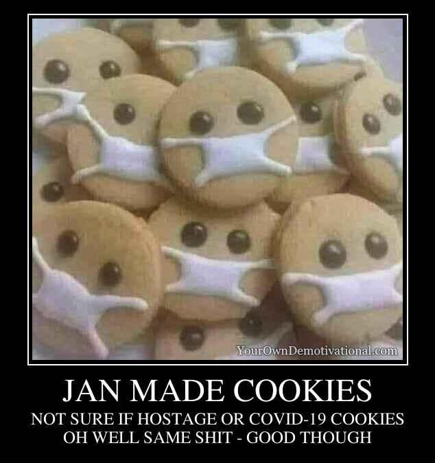JAN MADE COOKIES