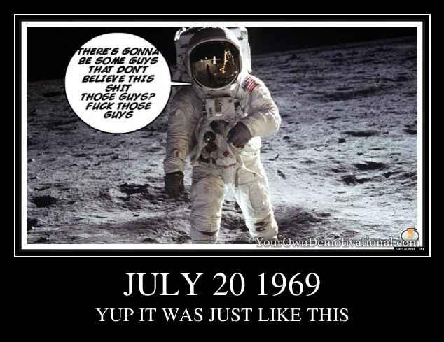 JULY 20 1969