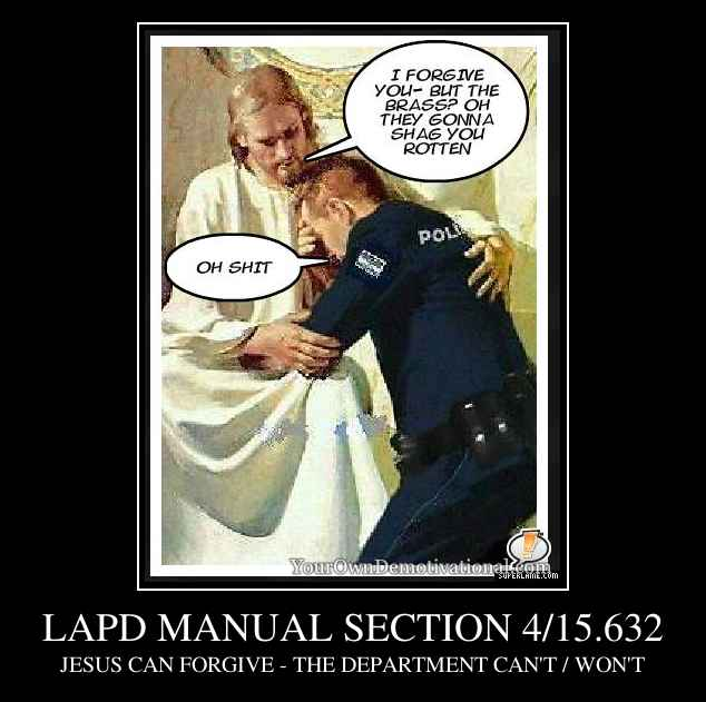 LAPD MANUAL SECTION 4/15.632
