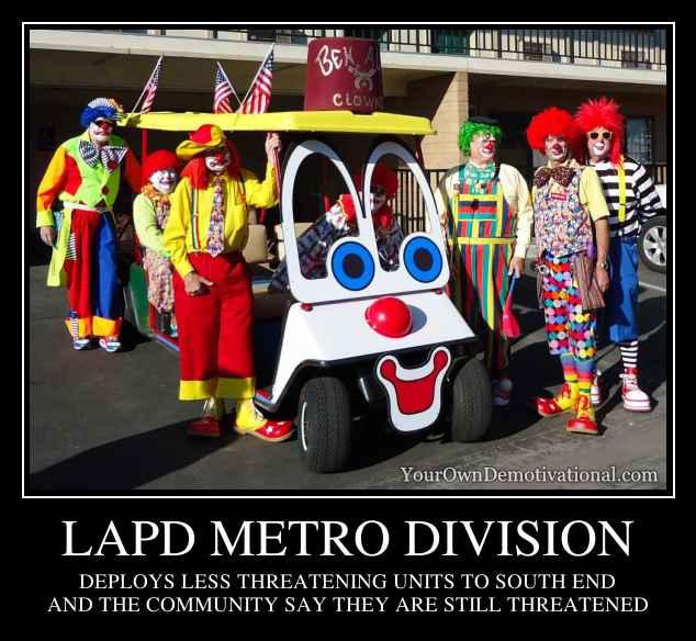 LAPD METRO DIVISION