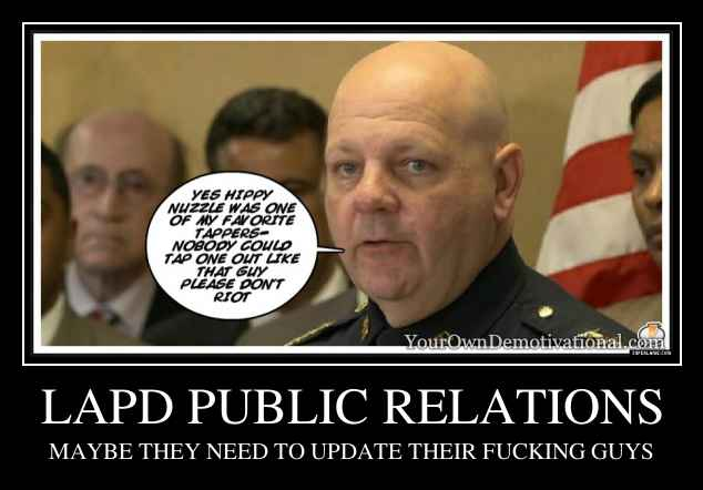 LAPD PUBLIC RELATIONS