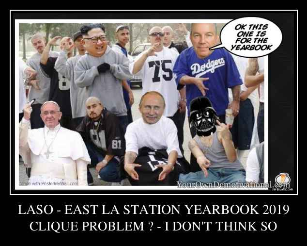 LASO - EAST LA STATION YEARBOOK 2019