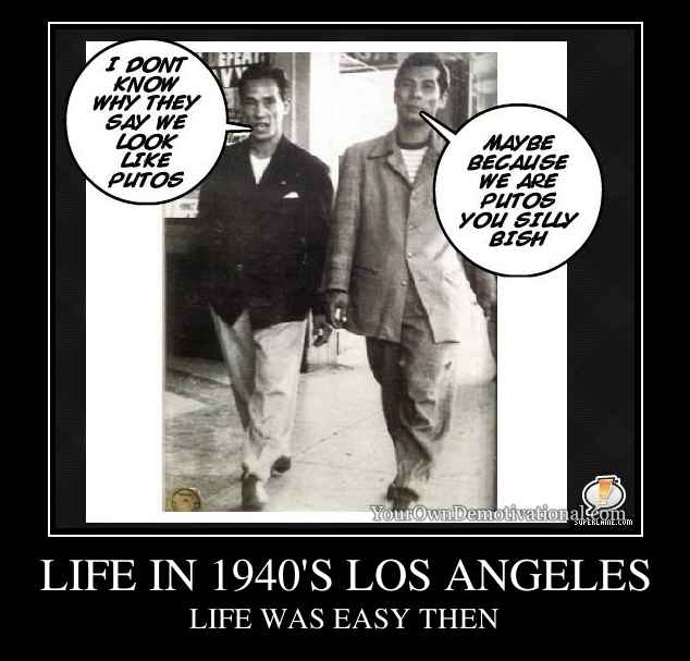 LIFE IN 1940'S LOS ANGELES