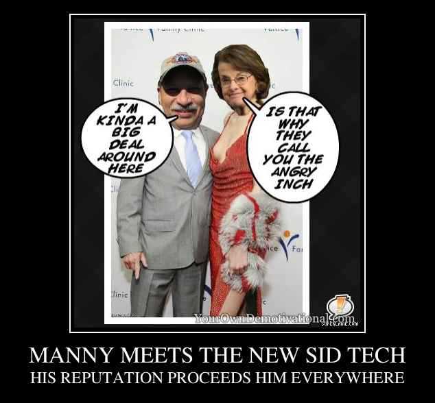 MANNY MEETS THE NEW SID TECH