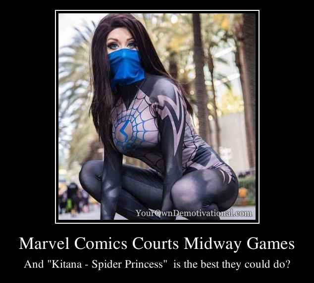 Marvel Comics Courts Midway Games
