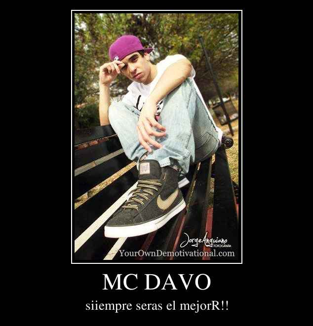 mc davo - dedicala - YouTube