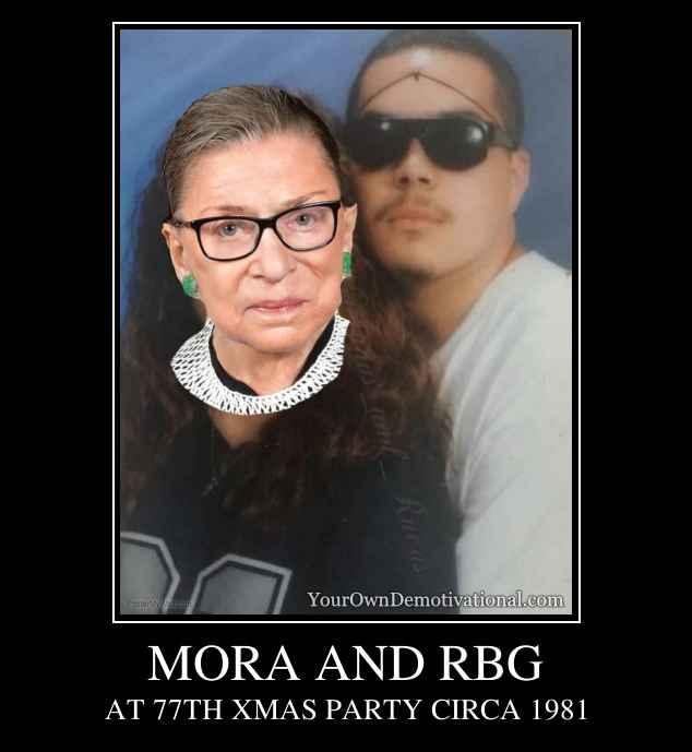 MORA AND RBG