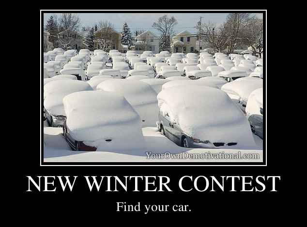 NEW WINTER CONTEST