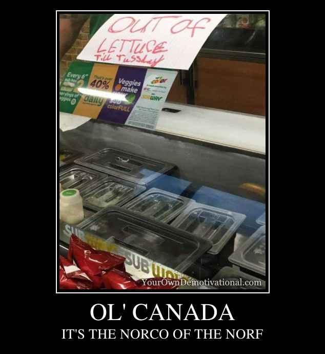 OL' CANADA