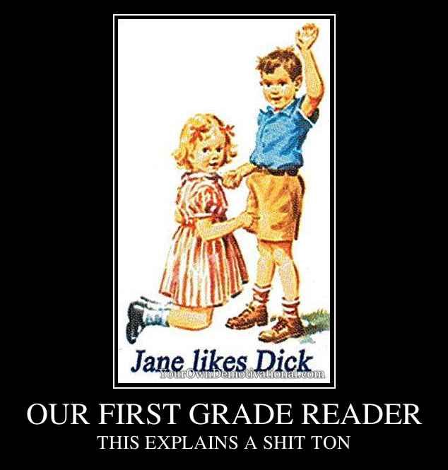 OUR FIRST GRADE READER