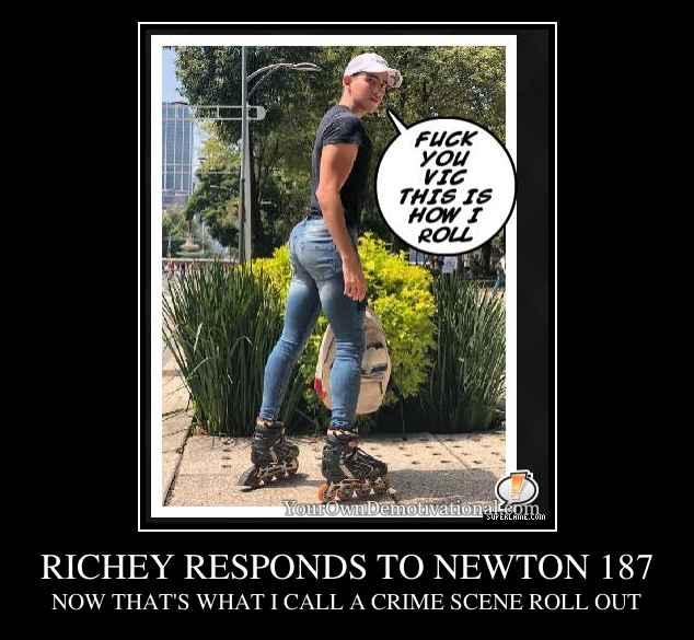 RICHEY RESPONDS TO NEWTON 187