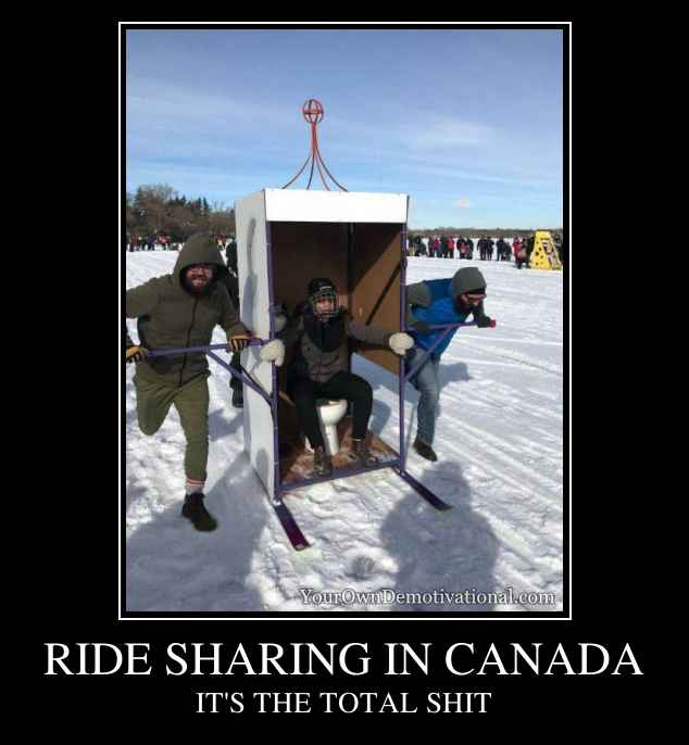 RIDE SHARING IN CANADA