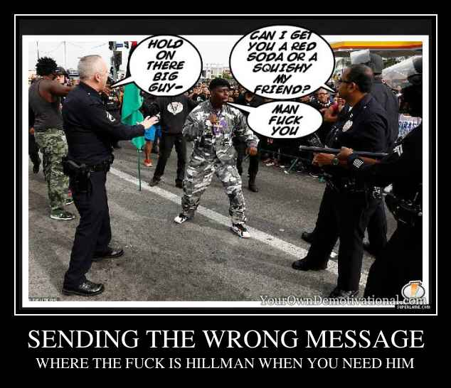 SENDING THE WRONG MESSAGE