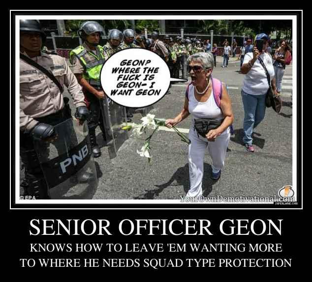 SENIOR OFFICER GEON