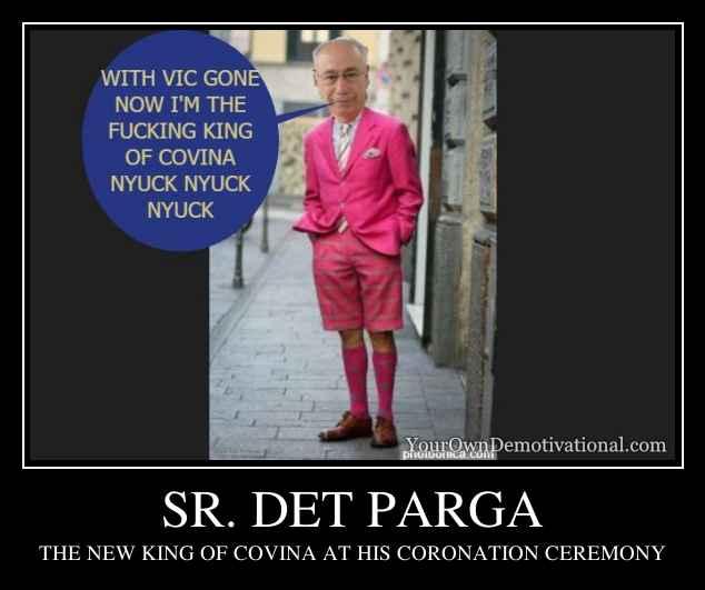 SR. DET PARGA