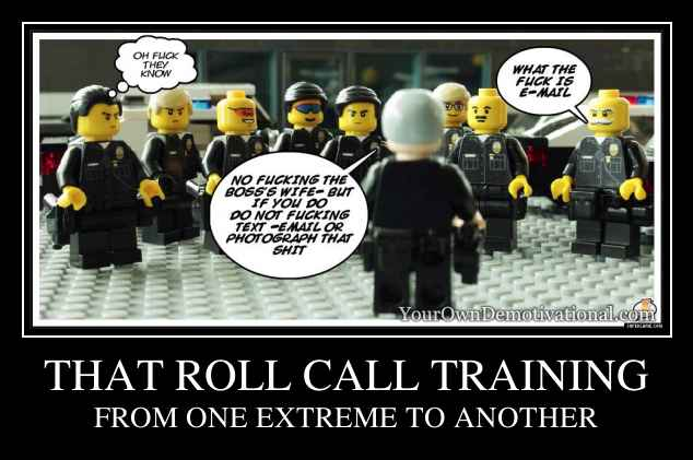 THAT ROLL CALL TRAINING