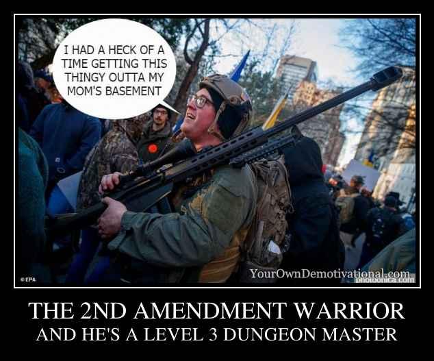 THE 2ND AMENDMENT WARRIOR