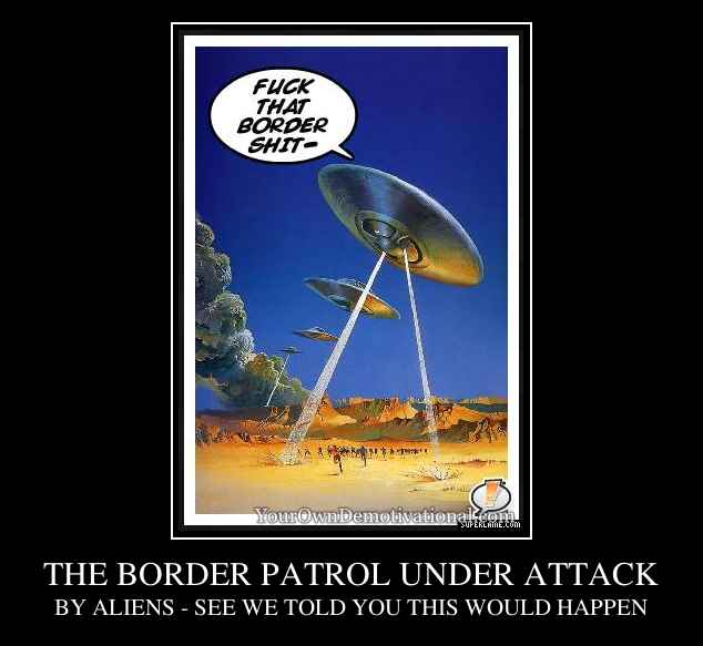 THE BORDER PATROL UNDER ATTACK