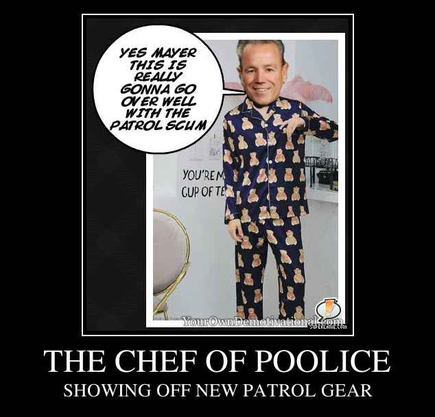 THE CHEF OF POOLICE