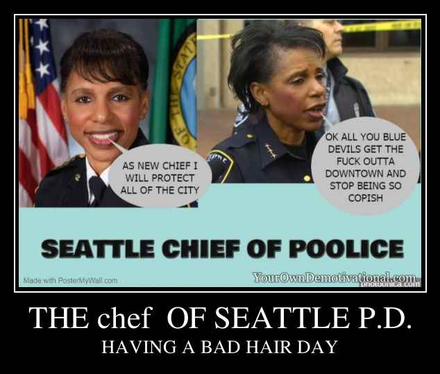 THE chef  OF SEATTLE P.D.