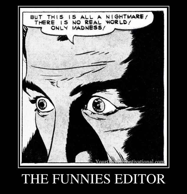THE FUNNIES EDITOR