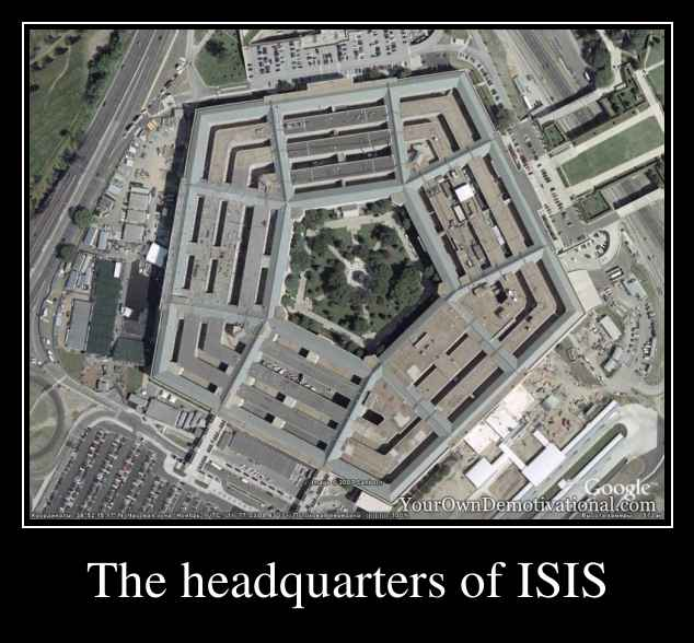 The headquarters of ISIS