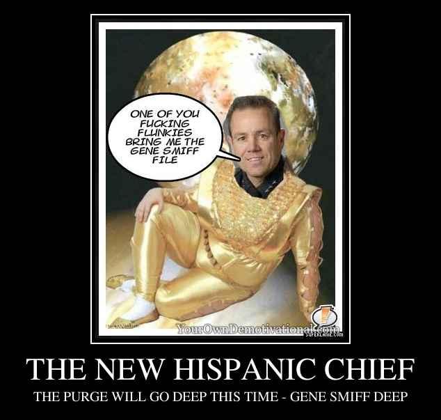 THE NEW HISPANIC CHIEF