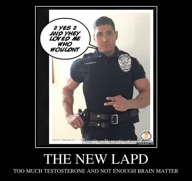 THE NEW LAPD