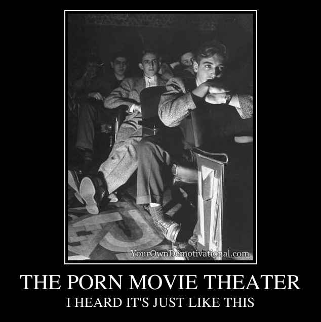 THE PORN MOVIE THEATER