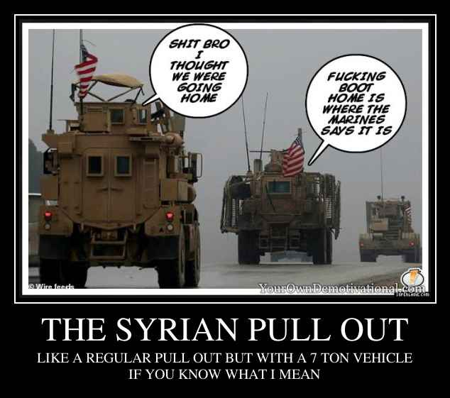 THE SYRIAN PULL OUT