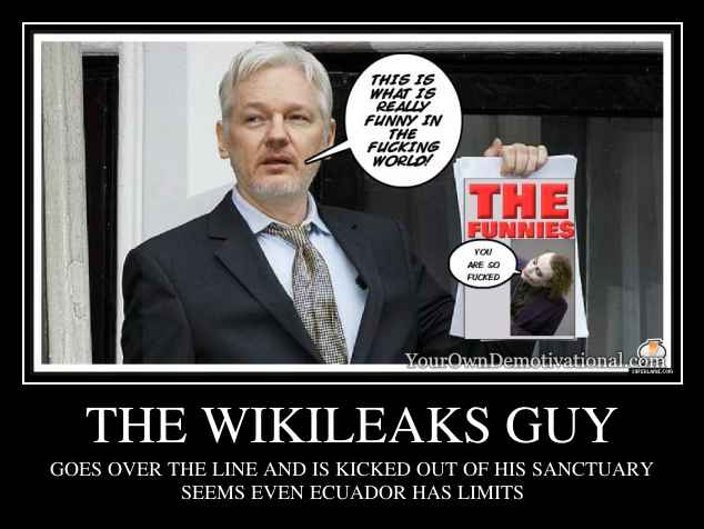THE WIKILEAKS GUY
