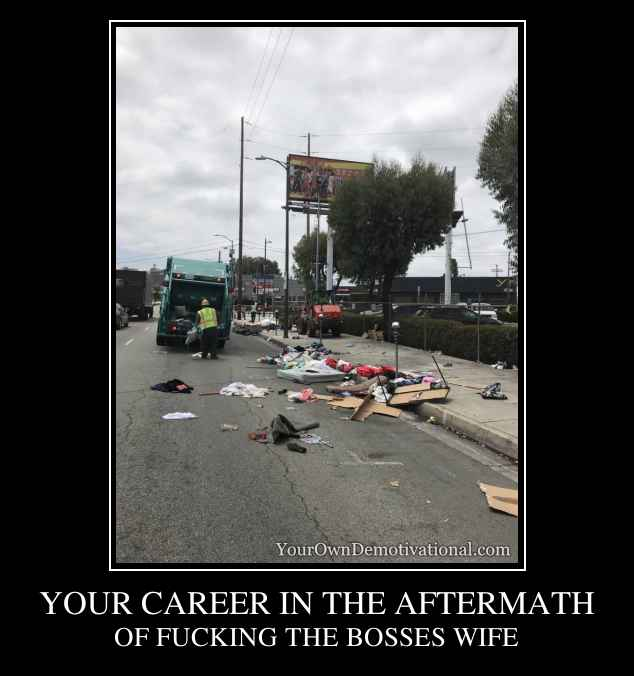 YOUR CAREER IN THE AFTERMATH