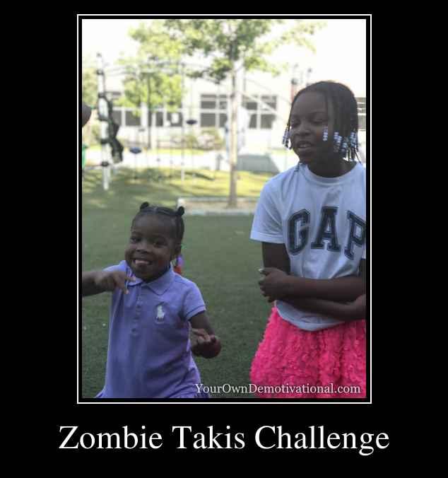 Zombie Takis Challenge